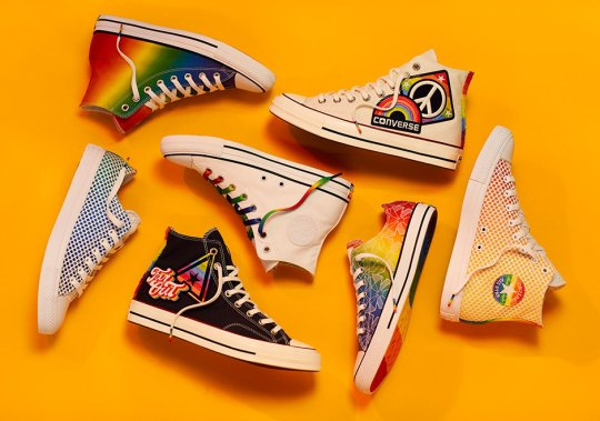 """Converse Celebrates LGBTQ Equal Rights With """"Yes To All"""" Collection"""