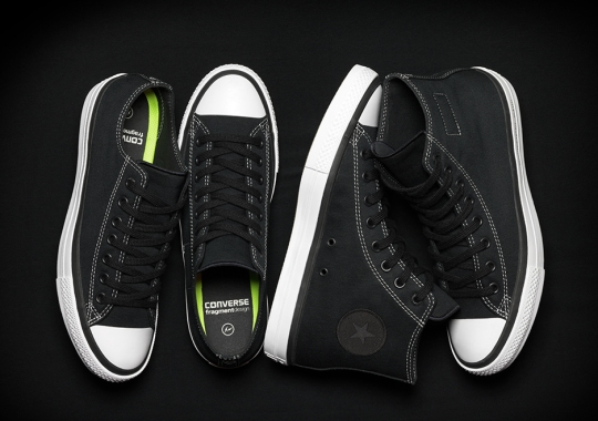 The fragment design x Converse Chuck Taylor All-Star SE Releases Thursday