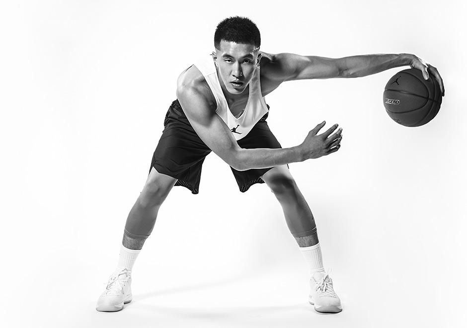 jordan signs chinese basketball player guo ailun sneakernews com