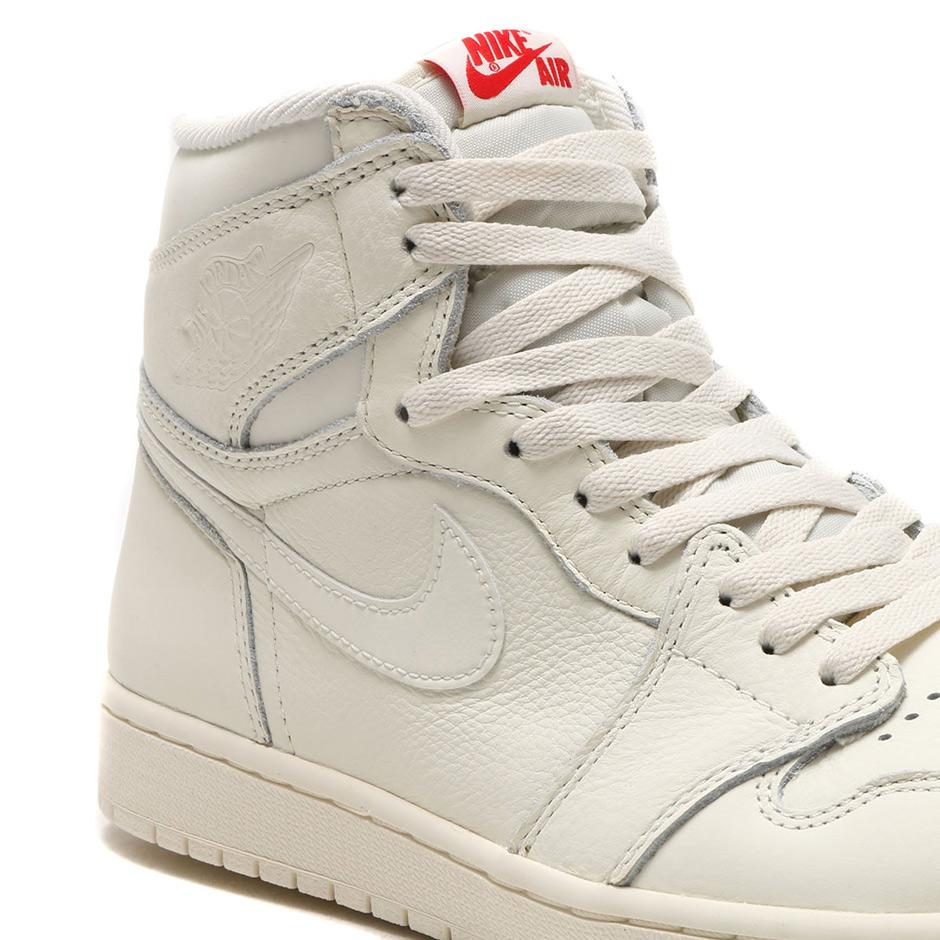los angeles 3e5b9 ba38e Air Jordan 1 Retro High OG Sail 555088-114   SneakerNews.com