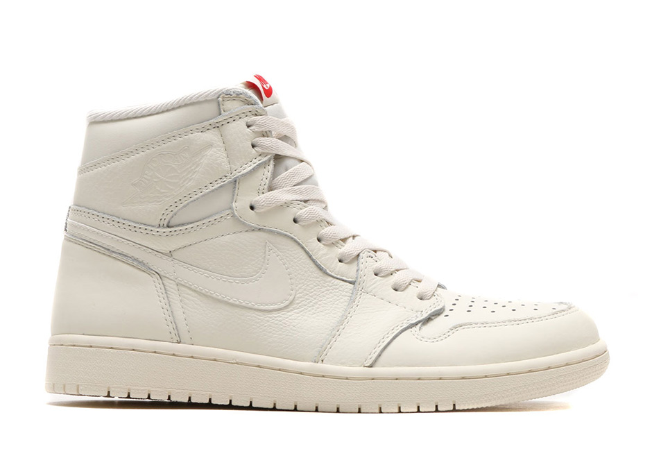 "Air Jordan 1 Retro High OG ""Sail"" Releases In June"