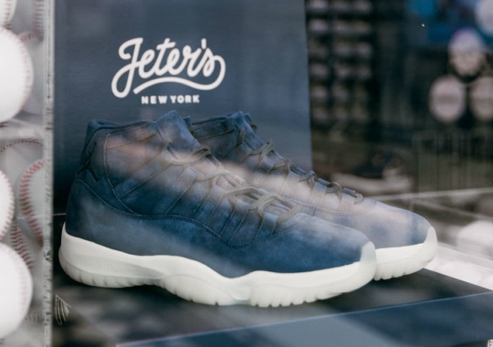 """Only 5 Pairs Of The Air Jordan 11 """"Jeter"""" Were Given Out This Past Weekend"""