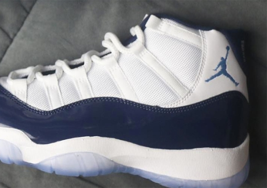 "Air Jordan 11 ""Navy"" Releases On Black Friday"