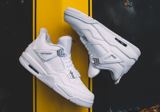 "Where To Buy The Air Jordan 4 ""Pure Money"""