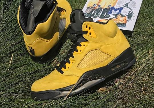 Jordan Brand Honors The Fab Five With Incredible Air Jordan 5 PE