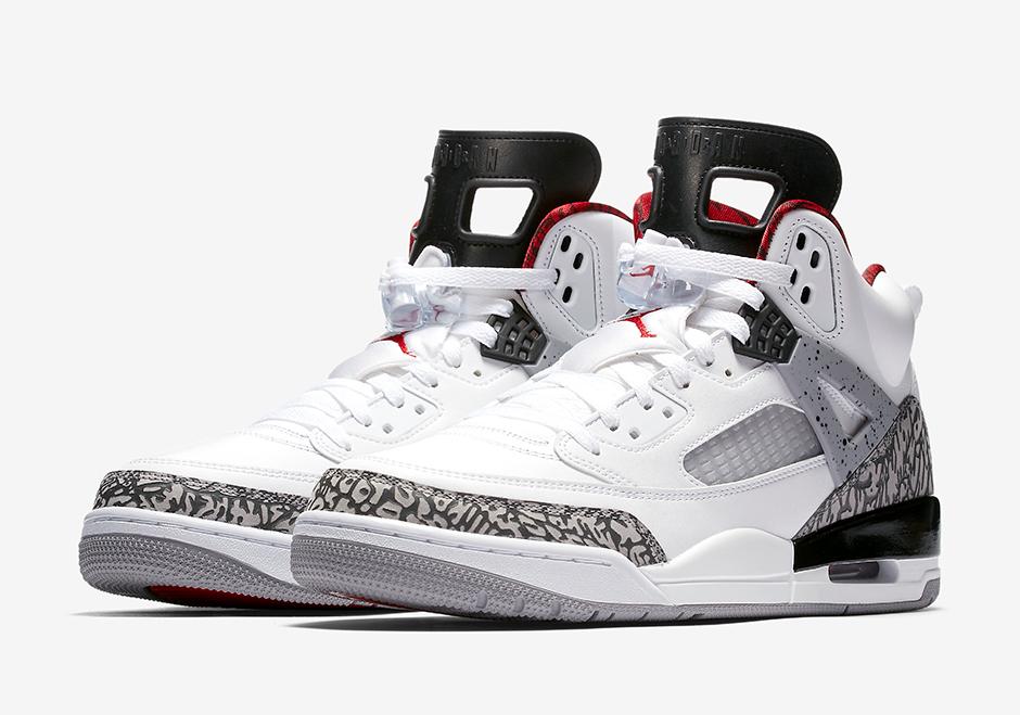 2007 Nike Air Jordan Ciment Blanc