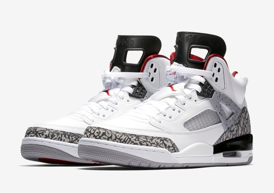 The Jordan Spiz'ike White/Cement Is Returning On June 20th