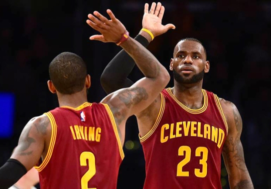 LeBron and Kyrie Have The Best-Selling Signature Shoes In The NBA