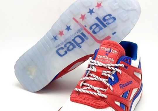 Major DC Honors The Washington Capitals With Reebok Ventilator Collaboration