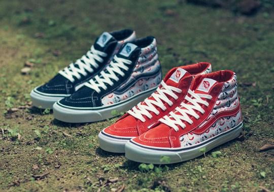 NEIGHBORHOOD And Vans Vault Releasing Two Sneakers This Weekend