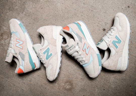 "New Balance Pairs ""Sea Salt"" And ""Storm Blue"" For Two Women's Releases"