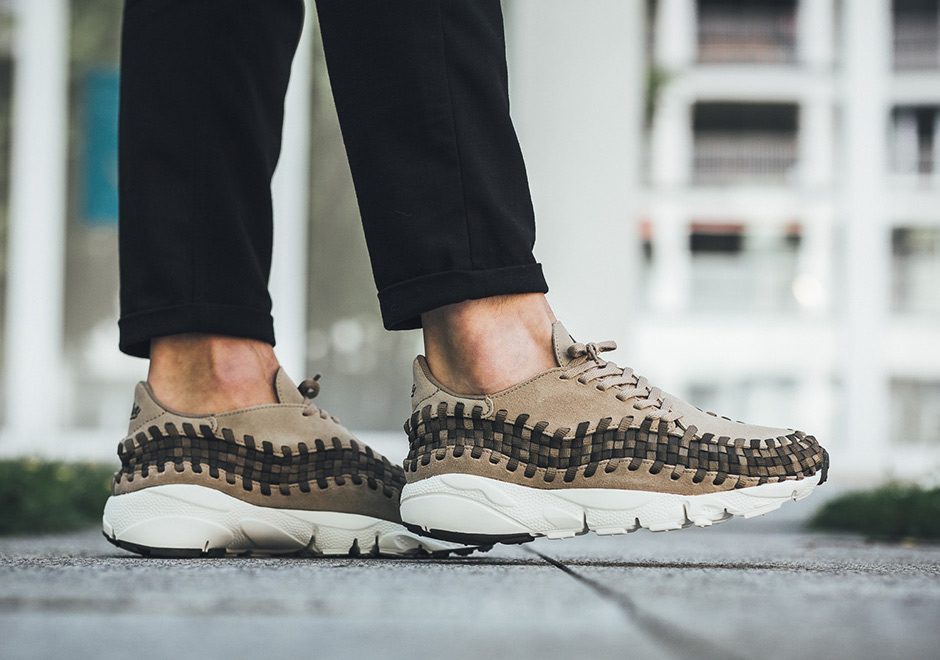 a8f9ae55d420 The Nike Air Footscape Woven gets made over in khaki