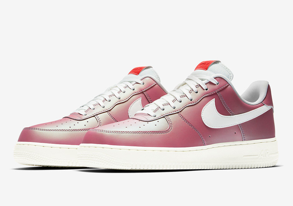 Nike Air Force 1 Low Color Shift Maroon 823511 600 Sneakernews Com