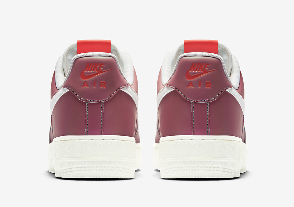 nike air force 1 low color shift maroon 823511600