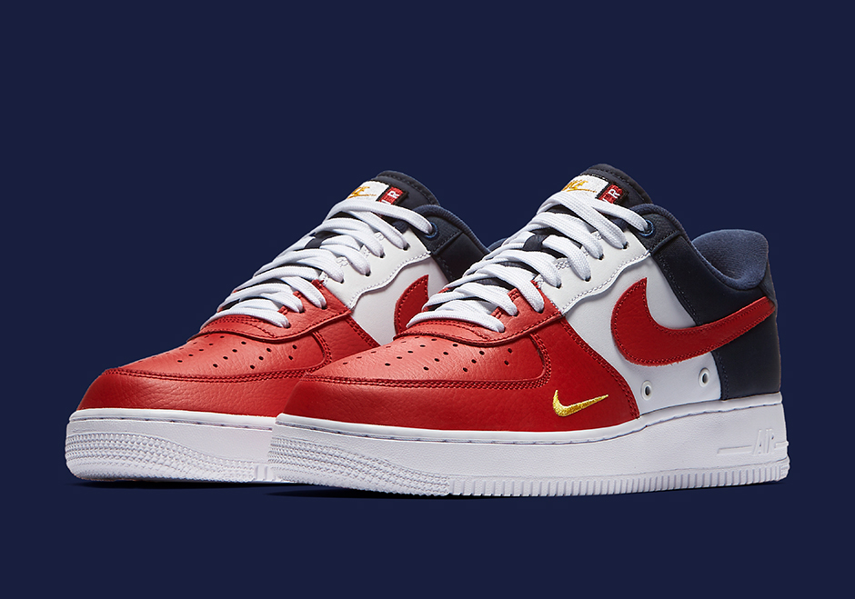 quality design 92b00 12a8b ... Nike Air Force 1 Low Mini-Swoosh Collection - Summer 2017  SneakerNews.com ...
