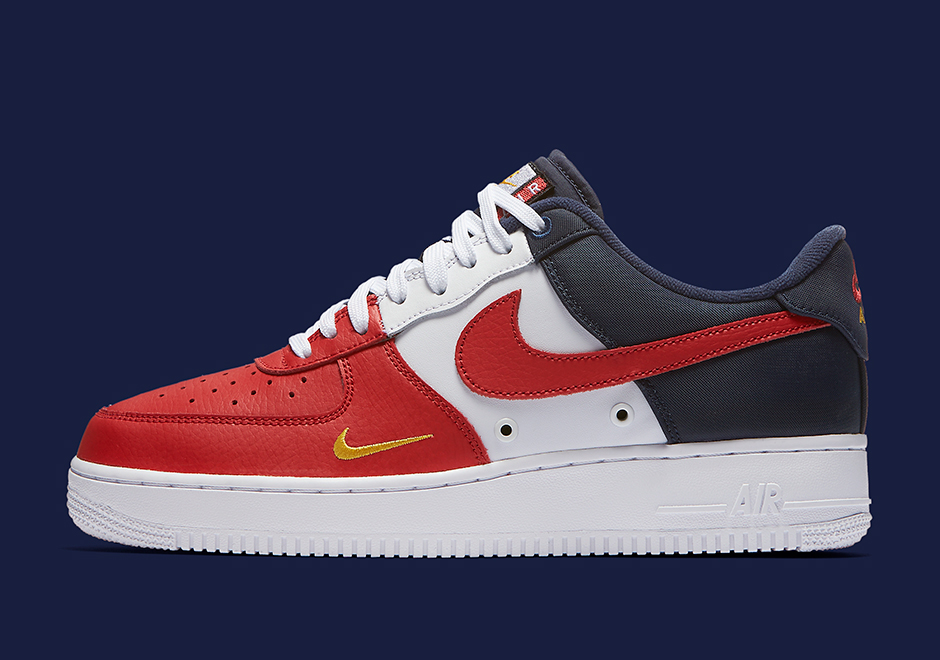 factory authentic 1c4d2 aa448 ... Black or Cool Grey with contrast white branding. What do you think of  the Air Force 1 Low Mini Swoosh Collection  Stay tuned for a Release Date  right ...