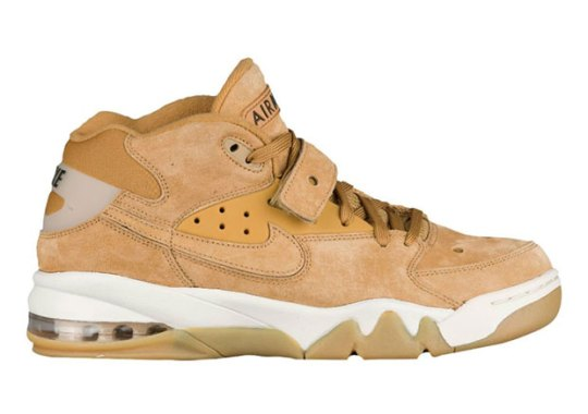 "Charles Barkley's Nike Air Force Max Is Releasing In ""Flax"""