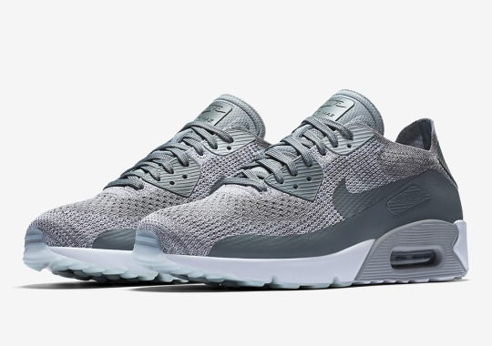 "Nike Air Max 90 Ultra 2.0 Flyknit ""Cool Grey"""