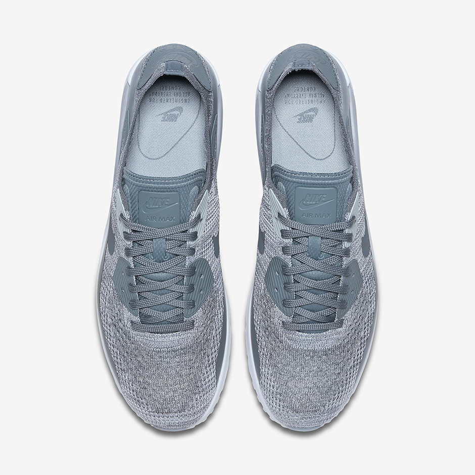 Especial acumular mago  Nike Air Max 90 Ultra Flyknit 2.0 Cool Grey 875943-003 | SneakerNews.com