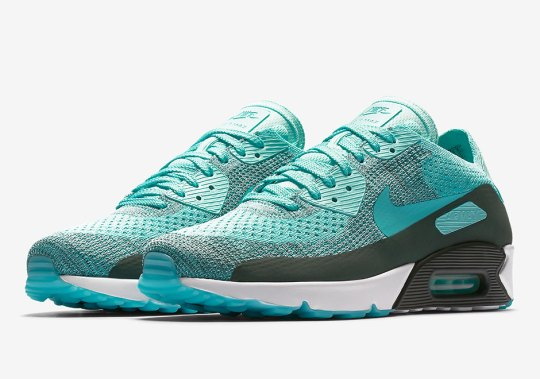 """Nike Air Max 90 Ultra 2.0 Flyknit """"Hyper Turquoise"""""""