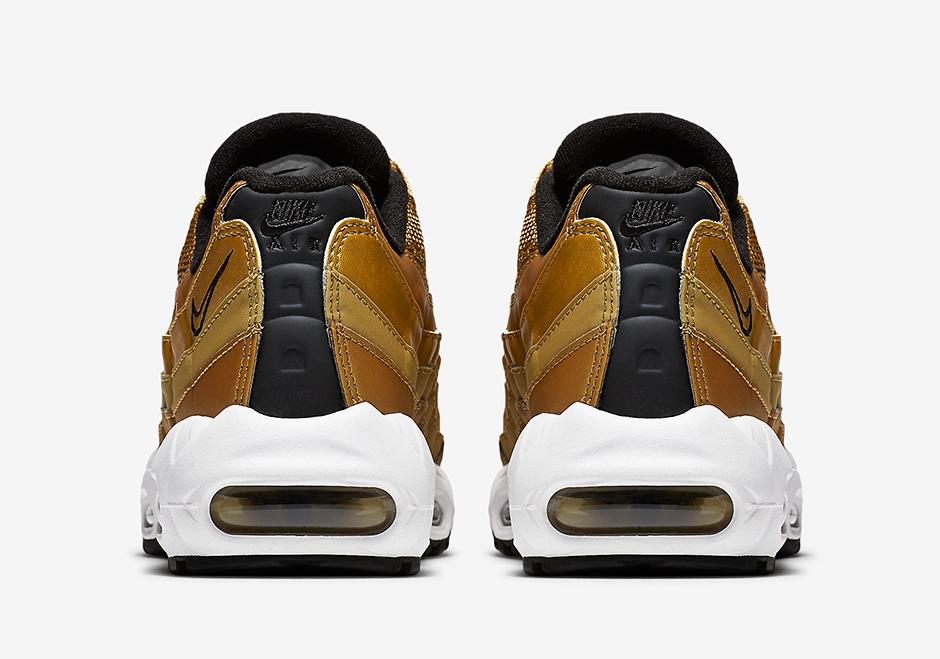 Nike Air Max 95 Kvinner Gull Dråpe Dato qcy7c