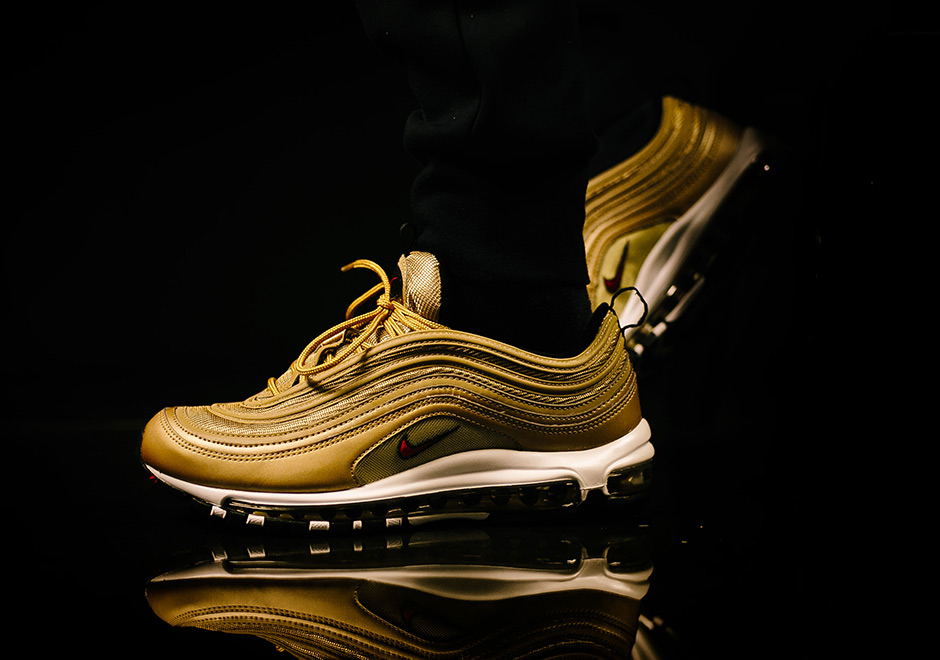 """2d78ee10b ... Gold Gum"""" The Nike Air Max 97 has had a fairly tame 20th-anniversary  celebration with the ..."""