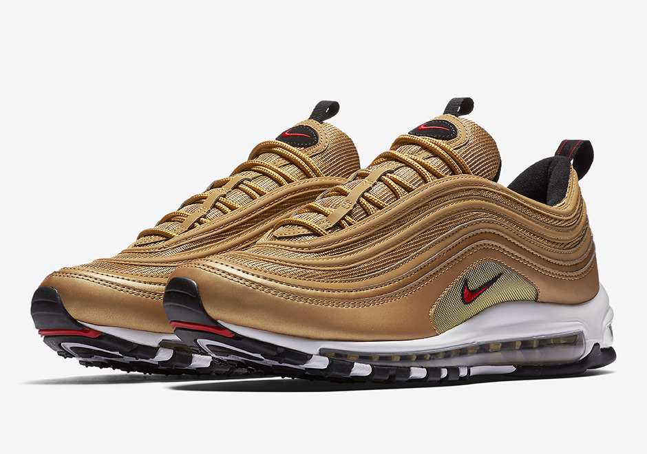 The Nike Air Max 97 is finally starting to release in more available  colorways after the Silver Bullets teased limited releases for the past few  months. 776aa88a8