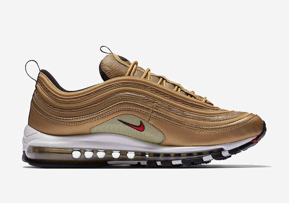 "a245cc759cbcfb Nike Air Max 97 OG ""Metallic Gold"" Release Date  May 18th"
