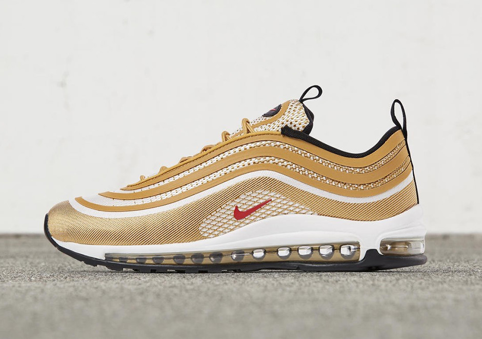 nike gold air max 97 uomo
