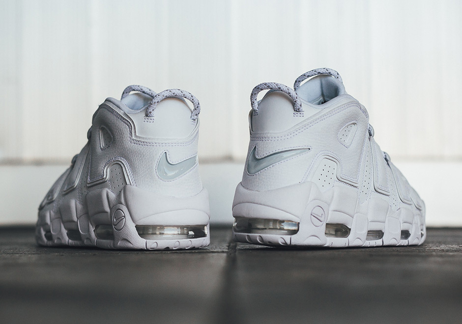 Nike Air Max Uptempo Triple White Pack Release Info  53853597f