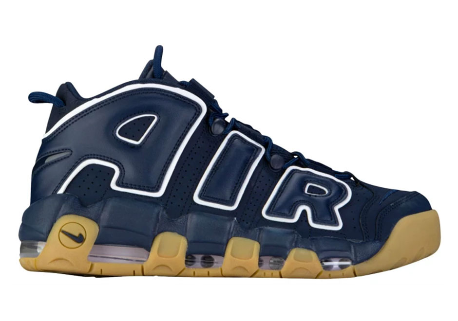 Nike Air More Uptempo ble navy zLPvD