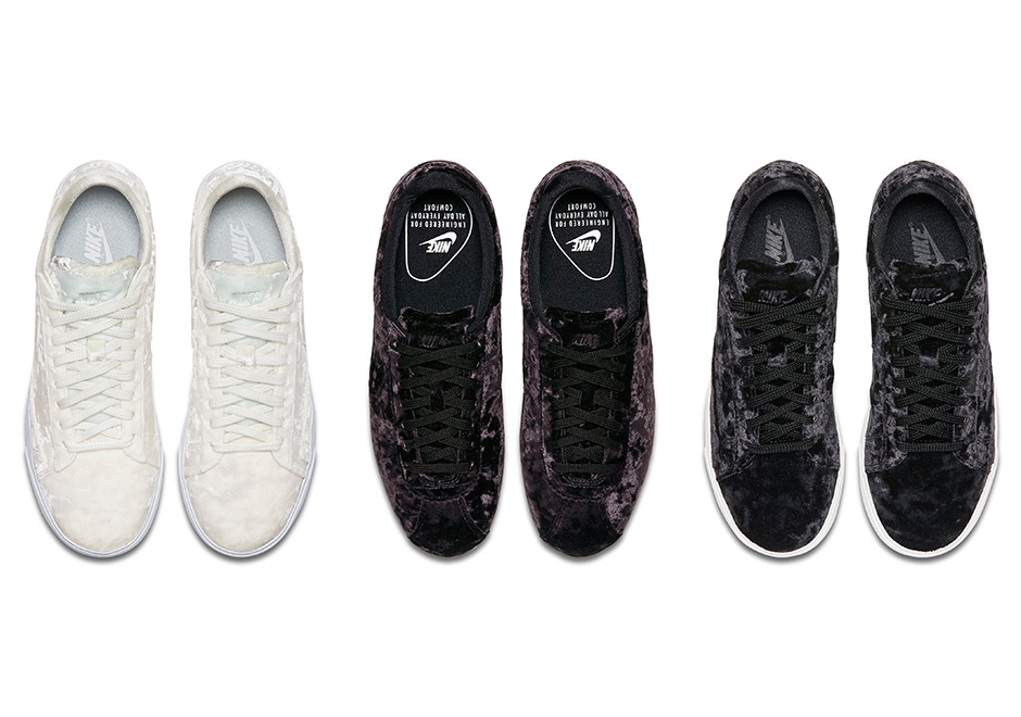 quality design dabd5 11f82 ... Blazer Low Classic Wmns 141 A couple of Nike classics are getting a  very smooth makeover this summer with the upcoming ...