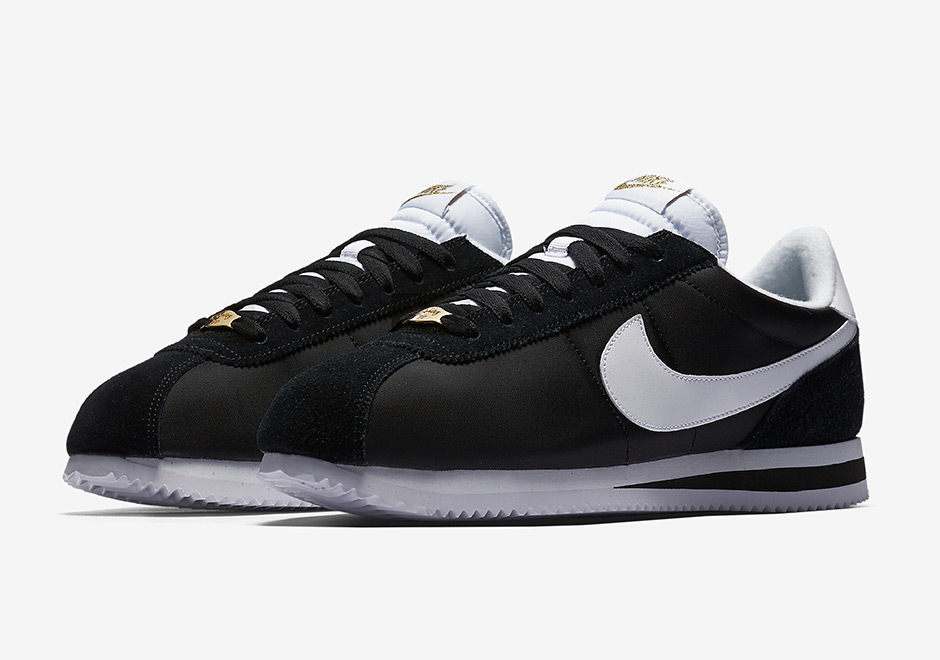 "best website fa61d 4d6e6 Nike Cortez XLV ""Compton"" Global Release Date  June 1, 2017  130. Color   Black White Metallic Gold"