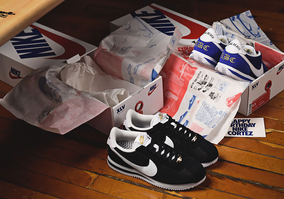 "28bbef29090235 Special Shoe Boxes Included With The Nike Cortez ""Compton"" And ""Long Beach"""