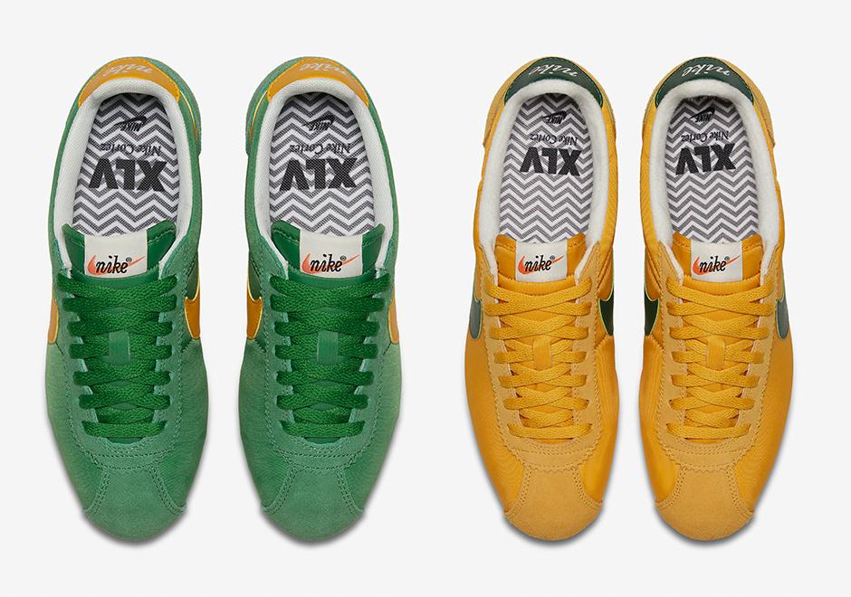 info for 6cccf d9abd Nike Cortez Classic Nylon Oregon 876873-700   SneakerNews.com