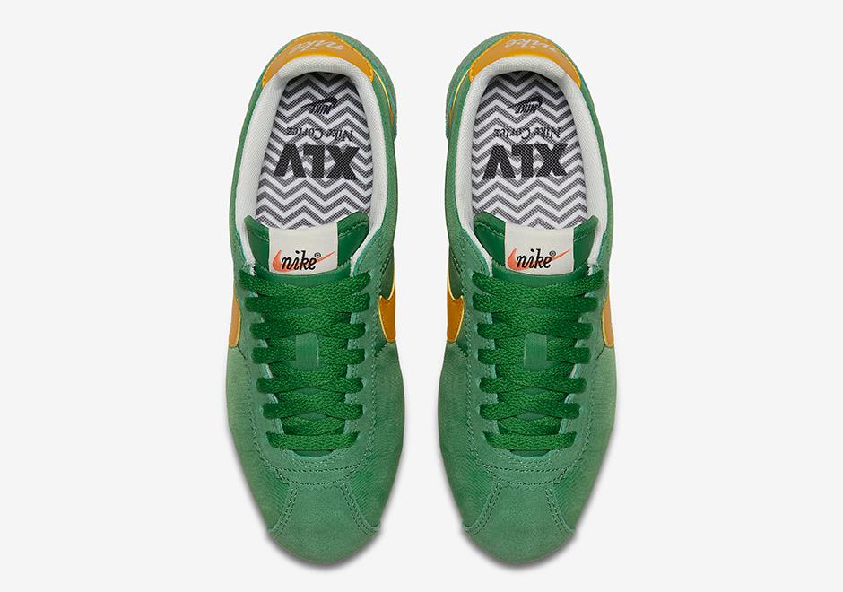 timeless design 62c49 d59a2 Nike Cortez Classic Nylon Oregon 876873-700   SneakerNews.com