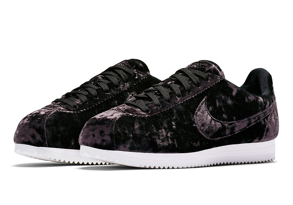 promo code e56a9 81568 Ladies can find all four velour-covered sneakers at select Nike Sportswear  retailers and Nike.com beginning this Thursday, May 4th.