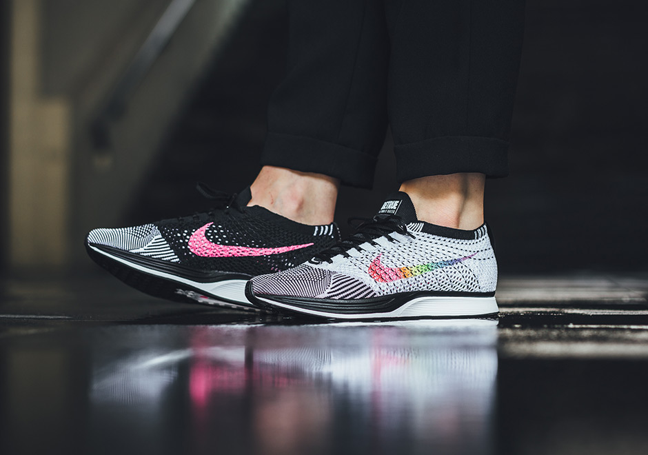Saturar negro Previsión  Nike Flyknit Racer Be True On Foot Preview | SneakerNews.com