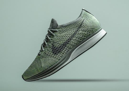 "Nike Flyknit Racer ""Ghost Green"" Releases On May 19th"