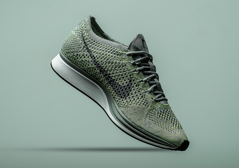 new product cfb31 20ced Nike Flyknit Racer Release Date  May 19th, 2017  150. Color  White Cool  Grey-Ghost Green-Wolf Grey