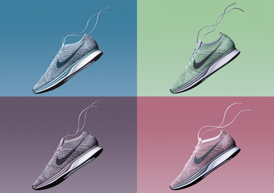 "Nike Flyknit Racer ""Macaroon Pack"" Available Now Via Early Access"