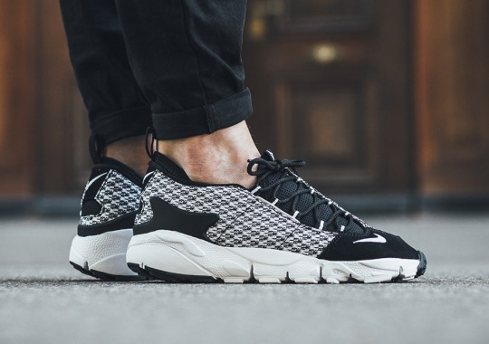Nike Air Footscape NM Jacquard Appears In Black And White