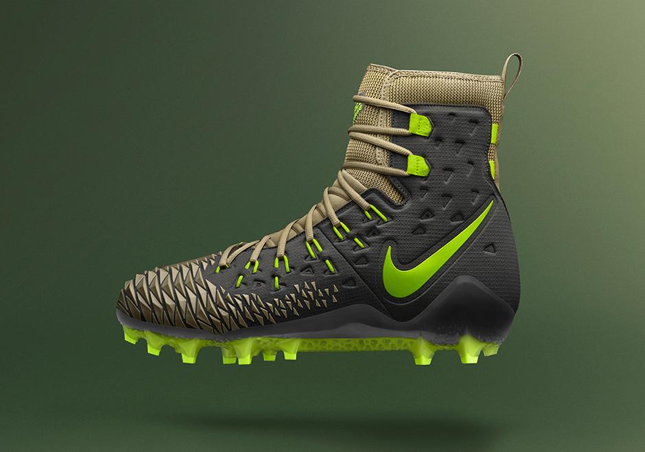 Apellido Ocurrir lotería  Nike Force Savage Elite Football Cleat Incredible Hulk   SneakerNews.com