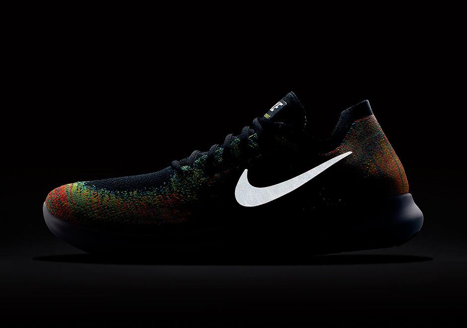 Nike Free Run Flyknit 2017 Multicolor oQE1A6B4