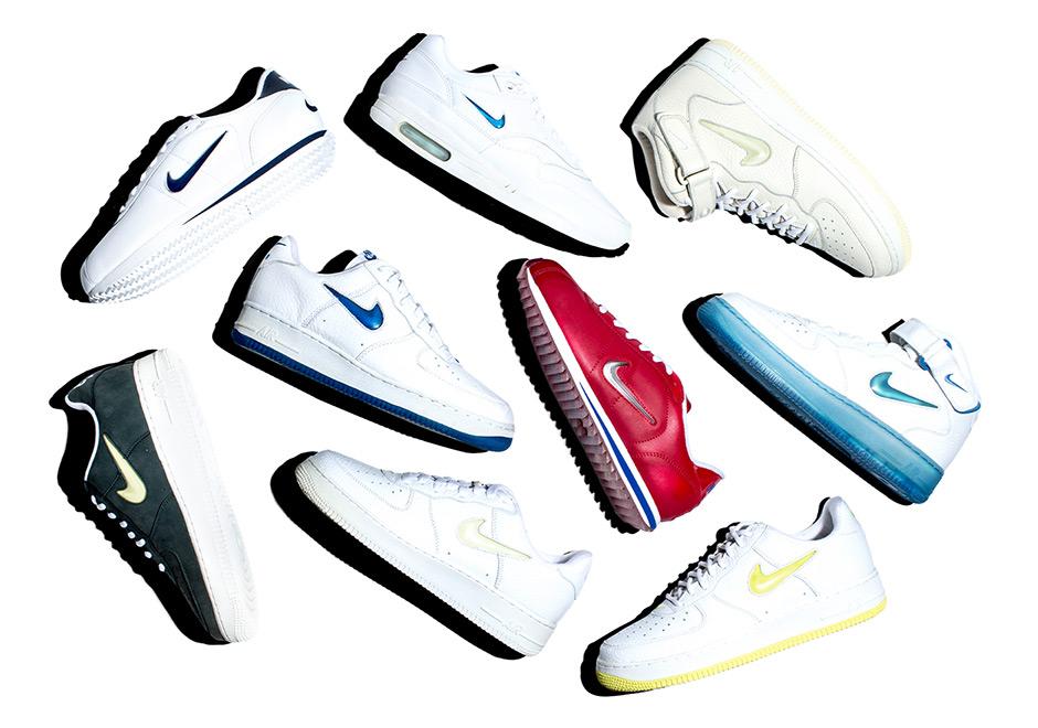 History of Nike Jewel Swoosh