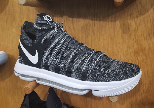 "Updated on June 14th, 2017 The Nike KD 10 ""Oreo"" releases on June 15th,  2017 for 150 via Foot Locker."
