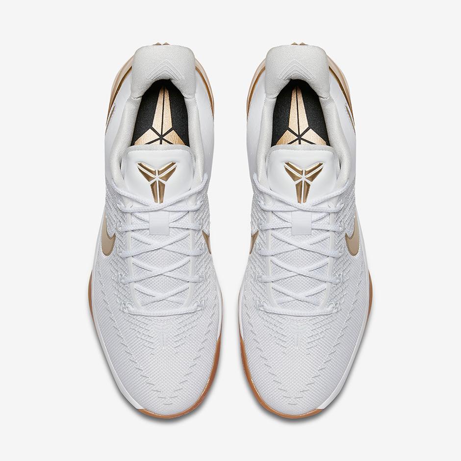 1db24dedfaf Nike Kobe AD Big Stage White Gold Gum 852425-107