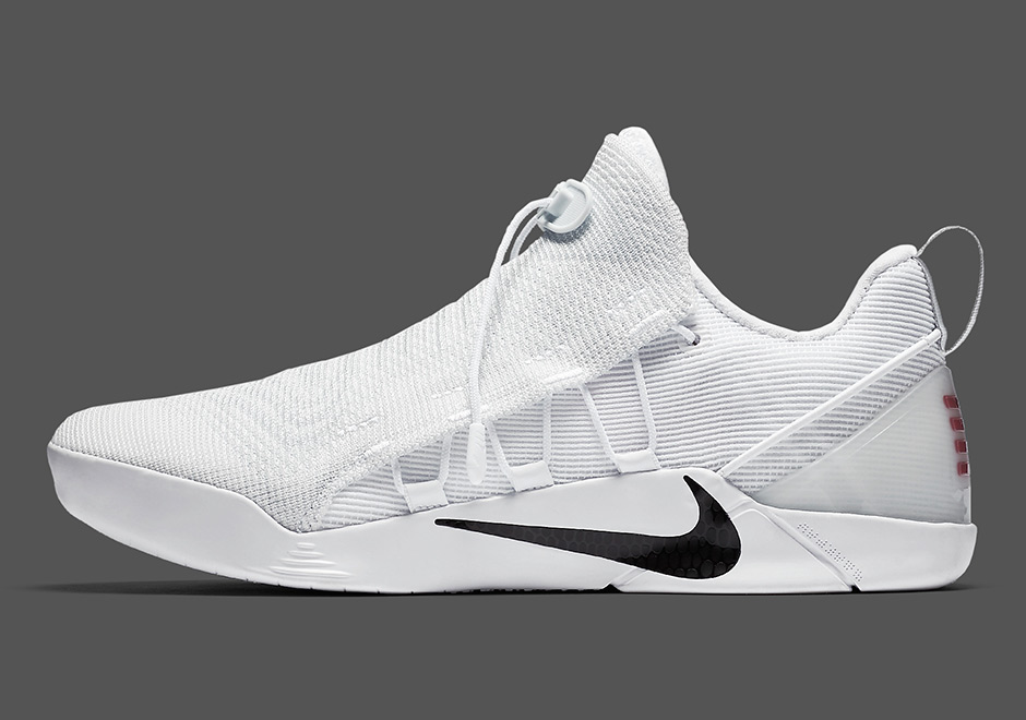new products f9fe5 269ee Nike Kobe A.D. NXT Release Date  May 12th, 2017  200. Color  White Black  Style Code  882049-100