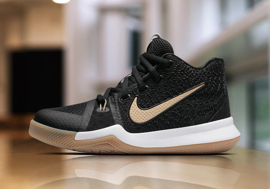 check out a49bc d6bd5 Nike Kyrie 3 Badge of Honor 859466-092 | SneakerNews.com