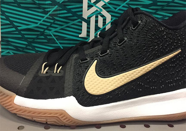 sports shoes ff913 8fbed Nike Kyrie 3 Black Gum Release Date | SneakerNews.com